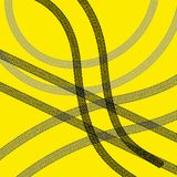 Set of detailed tire prints, illustration Stock Images