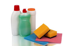 Set detergents Royalty Free Stock Images