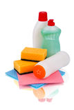 Set detergents Stock Photo