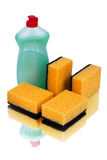 Set detergents Stock Photography