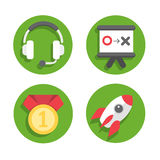 Set Devices Icons 03 Royalty Free Stock Photography