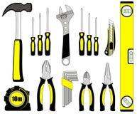 Set di strumenti Fotografia Stock