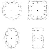 Set of dials vector illustration