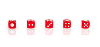 Set of dice Royalty Free Stock Photography