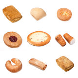 Set of a different bakery products Stock Photo