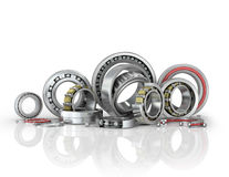 Set different bearings Stock Image