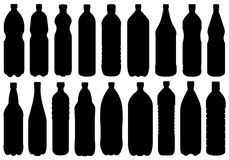 Set Of Different Bottles Stock Images