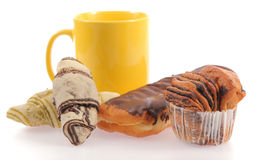 Set of different breads Stock Image