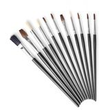 Set of different brushes Royalty Free Stock Photo