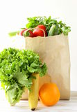 Set of different convenience food (vegetables fruit) Stock Photography