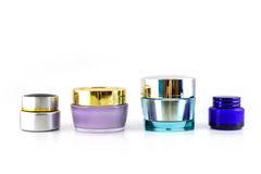 Set of different cosmetics cream Stock Image