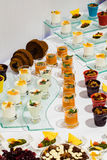 Set of different desserts royalty free stock photo