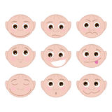 Set Different Emotions Royalty Free Stock Photo