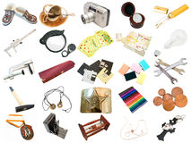 Set from different everyday items. From my portfolio Royalty Free Stock Images
