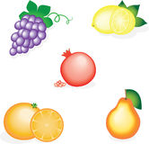 Tasty fruits Stock Image