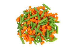 Set of different frozen vegetables Stock Photo