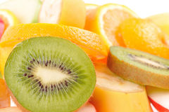 Set of different fruits Royalty Free Stock Photo