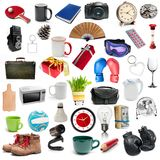 Set of different objects Royalty Free Stock Photo