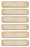 Set of different paper for notes Royalty Free Stock Photo