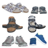 Set of different shoes Royalty Free Stock Photography