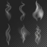 Set of different smoke Stock Photo