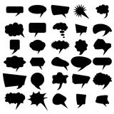 Set of Different Speech Bubbles Royalty Free Stock Image
