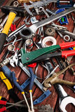 Set of different tools Stock Images