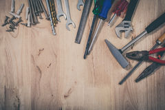 Set of different tools Stock Photography
