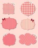 Set of different Valentine`s dey labels, design Stock Image