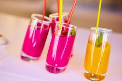 Set of different vegetable juices Stock Image