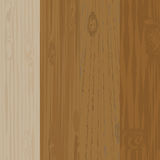 Set of different wooden boards with knots. Wooden background. Wood texture. illustration Royalty Free Stock Photos