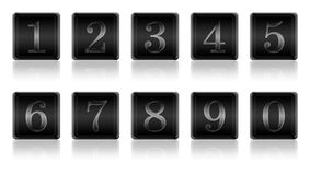 Set of digits from  Stock Photography