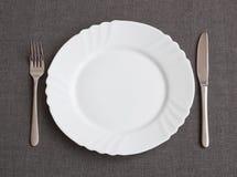 Set for dinner Stock Photo