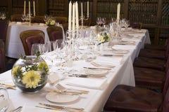 Set Dinner Table Stock Photos