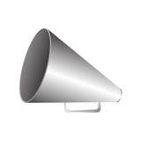 Set director megaphone icon image Royalty Free Stock Photo