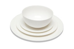 Set of dishes Stock Photos