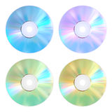 Set of disks Stock Images