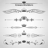 Set Dividers Obraz Royalty Free