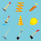 Set of diy icons Royalty Free Stock Images