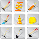 Set of diy icons Stock Photo
