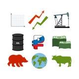 Set dla biznesowych grafika Set infographics Ikony kolekcja Zdjęcie Royalty Free