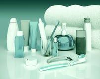 Set dla ranek higieny Zdjęcie Stock