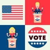 Set dla wyborów Fotografia Royalty Free