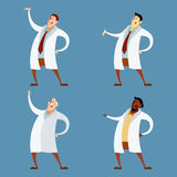 Set of doctors Royalty Free Stock Photos
