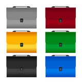 The set document case Royalty Free Stock Photos