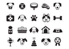 set of dog icons. Vector illustration decorative design