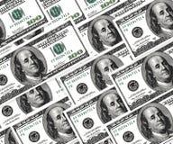 Set dolary, pieniądze tło Obraz Royalty Free