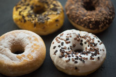 Set of donuts Royalty Free Stock Photos