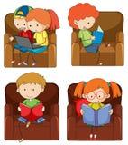 Set doodle żartuje studiowanie ilustracji