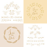 Set of doodle elements15 Stock Photography
